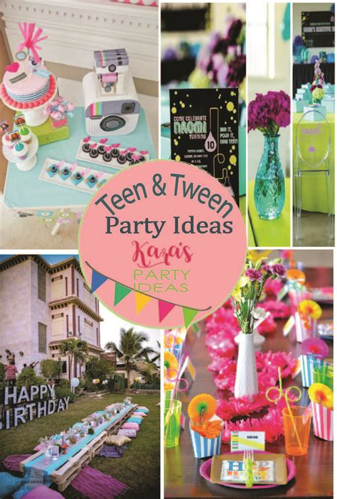 party themes tweens 17 best images about teen tween party ideas on pinterest