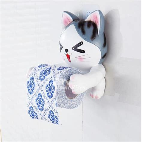cute toilet paper holder cute dog toilet paper holder wall mount no drill resin