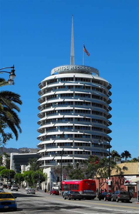 Building Records Panoramio Photo Of Capitol Records Building