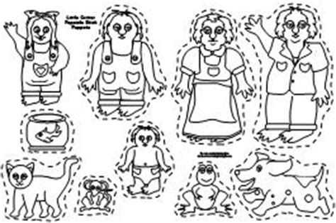 popsicle stick puppets people templates printable sketch
