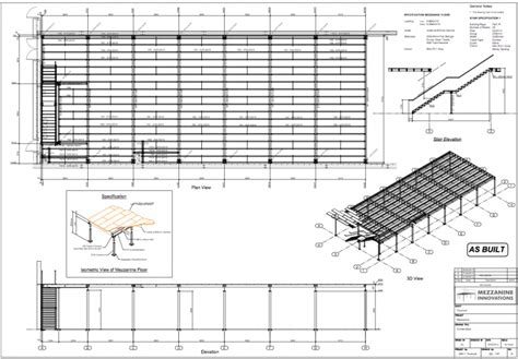 warehouse layout case study case study projects mezzanine staircase installation