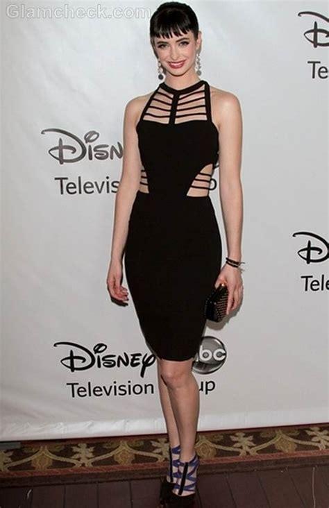 Krysten Ritter Dons Stunning Black Cutout Dress to All Star Party