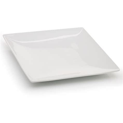 Kitchen Design Details by Wilko Side Plate Ceramic Square White 180mm At Wilko Com