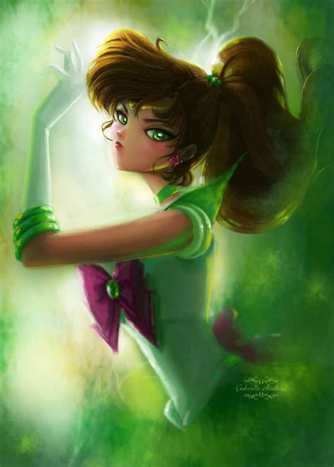 Promo Sailor Moon 1 18t Naoko Takeuchi sailor jupiter by gabrielleandhita on deviantart