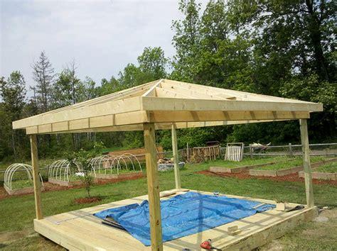 building a gazebo superb gazebo 4 how to build gazebo roof