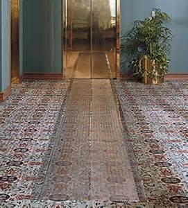 Plastic Floor Mats For Carpet Clear Trax Vinyl Floor Mat Belson Outdoors 174