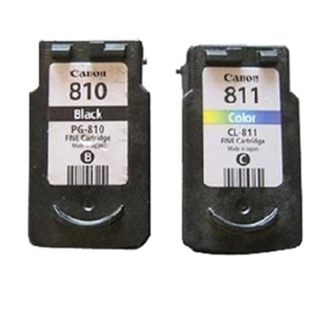 canon ink pg 810 cl 811 black cmy หม กแท lazada co th