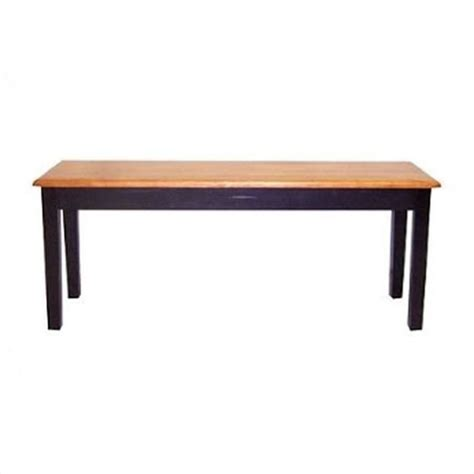 oak dining benches boraam shaker wood bench black oak dining table ebay