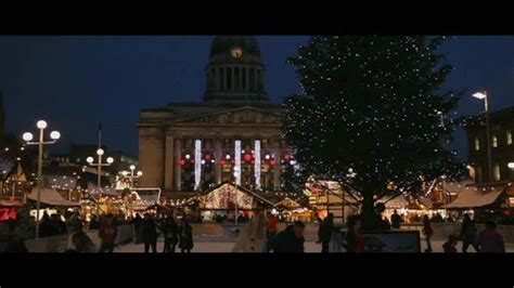 nottingham christmas market appears in krus horror film