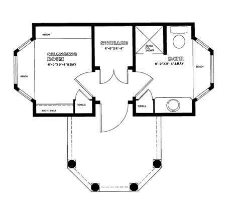 pool cabana floor plans small pool house plans smalltowndjs com