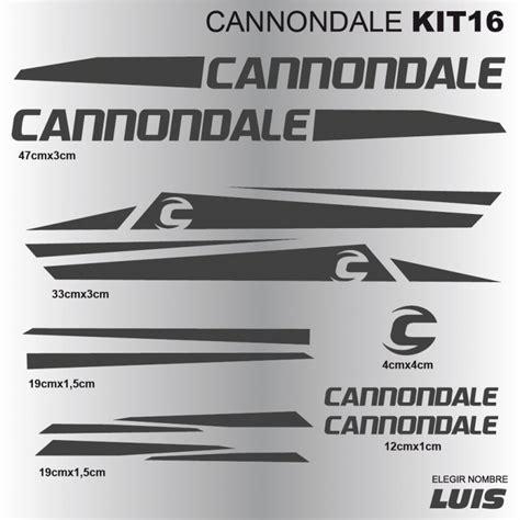 Fahrrad Aufkleber Cannondale by Cannondale Kit16 Aufkleber F 252 R Fahrrad Vinyls