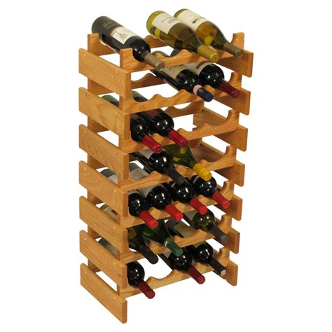 Wood Wine Rack by Wood Wine Rack 28 Bottle In Wine Racks