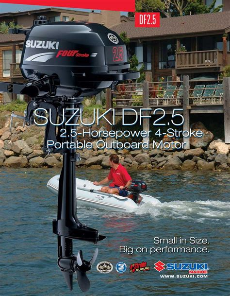 Suzuki 2 5 Outboard For Sale Brochure Outboard Suzuki Df 2 5 Book