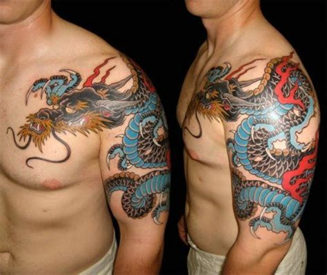 japanese dragon tattoo meaning for men 27 best chest plate images on japanese
