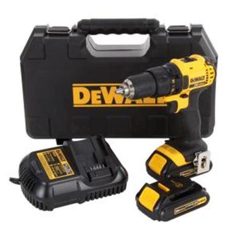 dewalt 20 volt max li ion cordless compact drill driver