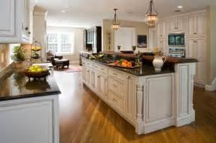Kitchen Designs In Open Floor Plans by Traditional Open Kitchen Floor Plans Herringbone Tile