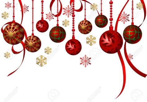 christmas ornaments clipart hanging pencil and in color