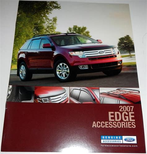 ford accessories brochure purchase 2007 ford edge accessories brochure motorcycle in