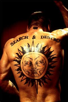 henry rollins tattoo henry rollins back of sun search and destroy flickr