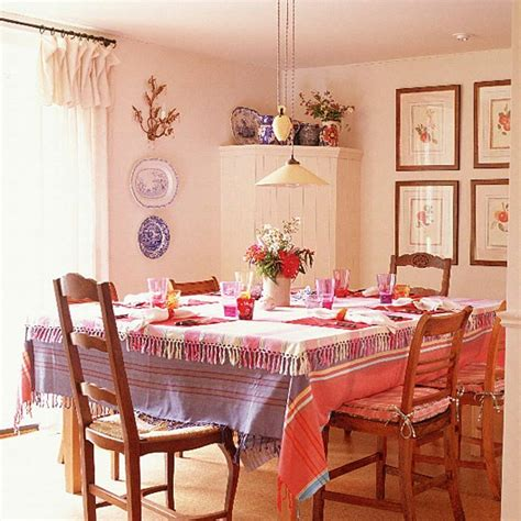 pink and lilac dining room table dining room furniture