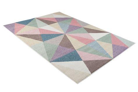 teppich kinderzimmer dreiecke tapiso happy teppich kurzflor kinderteppich mehrfarbig mit