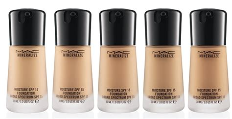 Mac Mineralize Foundation new product alert mac mineralize moisture spf 15