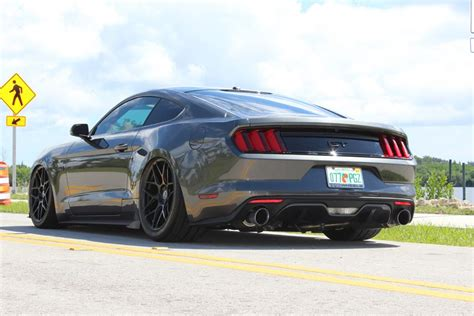 2015 mustang gt weight 2015 mustang gt bagged on hre wheels