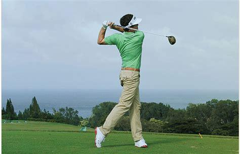 golf swing finish pre shot routine and setup clarence von aspern