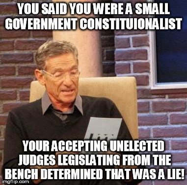 governing from the bench maury lie detector meme imgflip