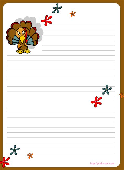 free thanksgiving writing paper printable thanksgiving writing papers happy easter