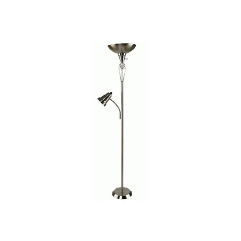 alton torchiere floor l with reader in bronze bronze torchiere floor l with reading light ls home