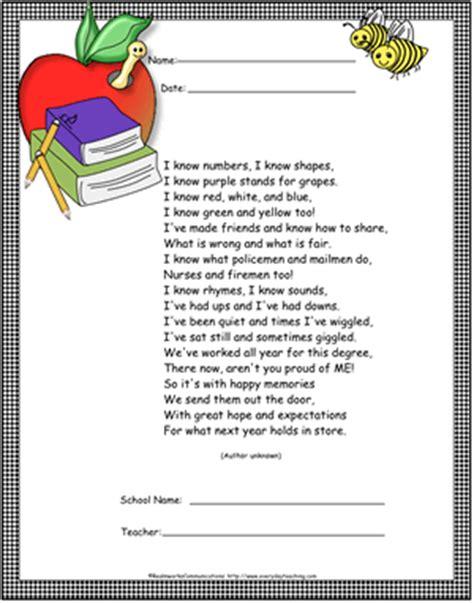 preschool graduation program sample google search