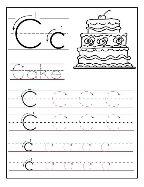 printable handwriting worksheets for preschool alphabet tracing printables best for writing introduction