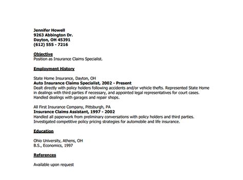 Insurance Cover Letter – resume objective underwriter   Worksheet Printables Site