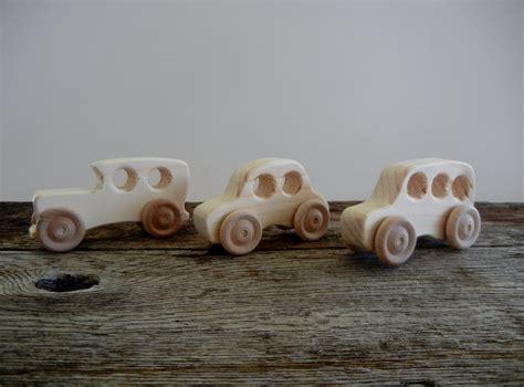Handmade Wooden Cars - wood cars handmade wood cars set of three