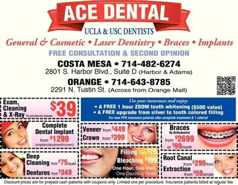 ace dental coupon orange county coupons