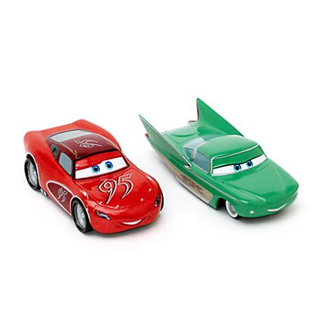 flo cars 2 characters lightning mcqueen and flo die casts disney pixar cars
