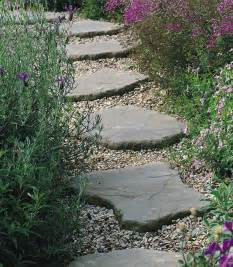 backyard stepping stones create stepping stone paths throughout the garden