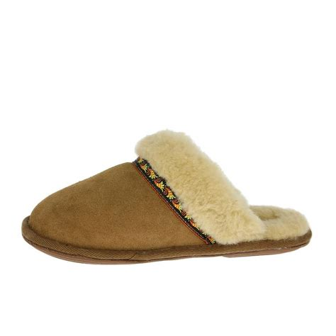 Bedroom Slippers Women | bedroom athletics womens muffin slippers new chestnut