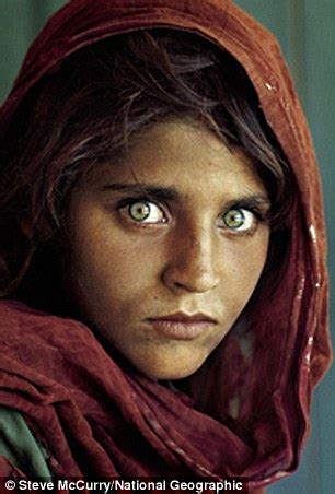 national geographic 'afghan girl' in pakistan papers probe