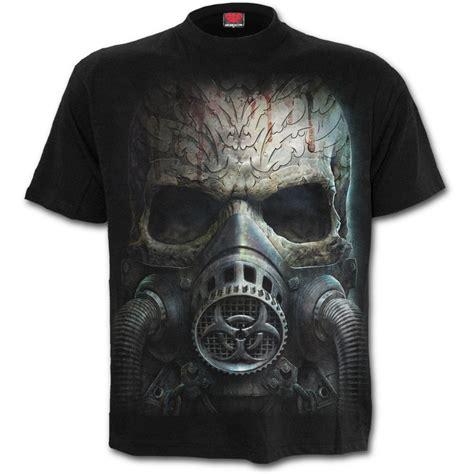 Skull The Shirt mens bio skull t shirt black shop from spiral