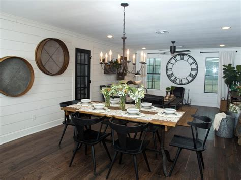 hgtv dining room lighting kitchen lighting ideas dining room farmhouse with white