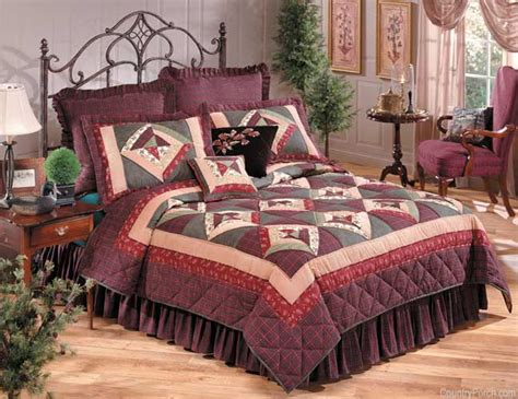 country quilts and bedding