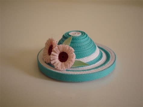 quilling hat tutorial 68 best quilled hats images on pinterest quilling 3d