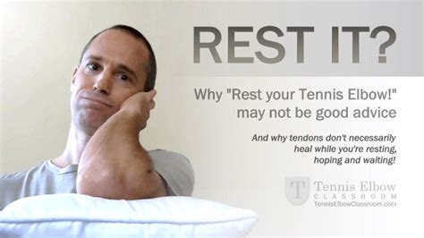 best treatment for tennis how important is rest in treating tennis