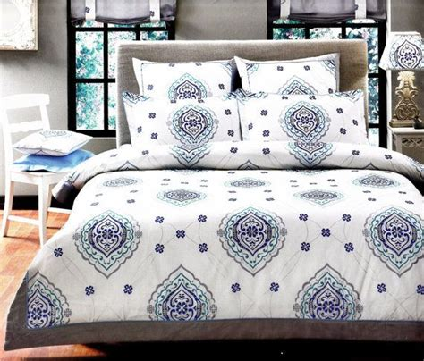 Navy And Teal Bedding by Custom Or Size Navy Blue Teal Grey Damask
