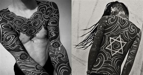 japanese tattoo artist united states masters of ink radical black ink tattoos by exiled