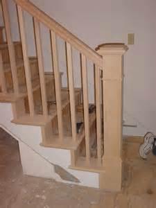 handrail styles bertram blondina handrail and stair craftsman style stairs