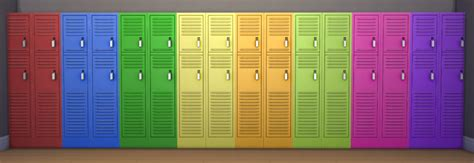 my sims 4 blog 02 11 16 my sims 4 blog lockers in 16 recolors by grumpyoldsimblr