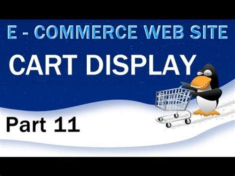 tutorial web e commerce 11 e commerce website tutorial display the php